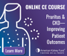 New accredited course available: Identifying and supporting patients with CKD-associated pruritus