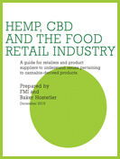 Guide: Hemp, CBD and the Retail Food Industry