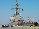 Missile fired from destroyer downs ballistic target