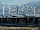 Wind and solar installation in Calif.