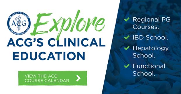 ACG clinical education