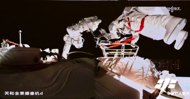 Chinese astronauts complete second spacewalk at new space station