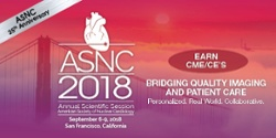 Top 10 reasons to attend ASNC2018