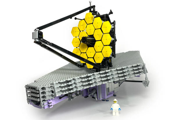 This Lego Ideas concept would let you build NASA's James Webb Space Telescope