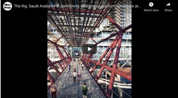 WATCH: Saudi Arabia will convert oil rig into massive extreme park (SVC Online Editor)