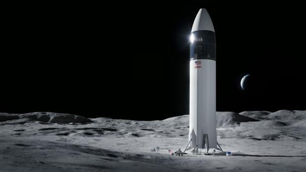 NASA halts human moon lander work with SpaceX amid Blue Origin lawsuit