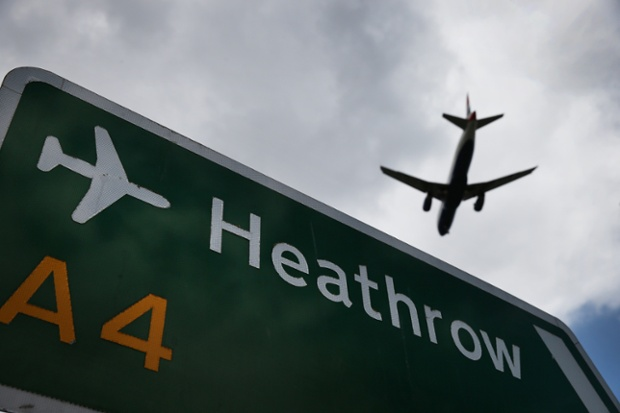 Heathrow airport enhanced its drone defenses