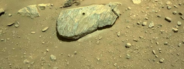 NASA's Perseverance rover drills 1st Mars rock sample for an (eventual) return to Earth