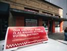 Mischief opens a pizza shop to spotlight gerrymandering