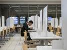 Ore. school installs dividers in cafeteria