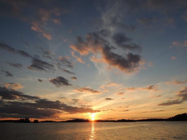 Sunset ... Rainy Lake, Ontario, Canada