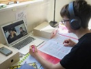 Teacher shares how 1st-graders learn to read on Zoom