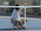 The pandemic will serve tennis' tradition of quiet