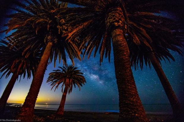 Refugio State Beach in California