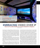 The Integration Guide to Video Over IP