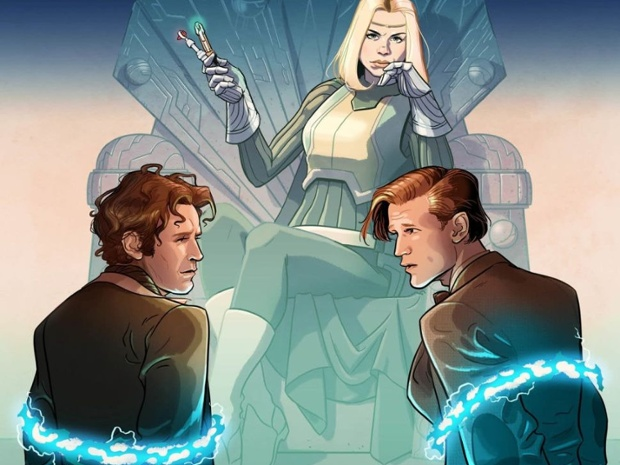 Rose Tyler joins the Eighth and Eleventh Doctors in Titan Comics' new 'Doctor Who' series