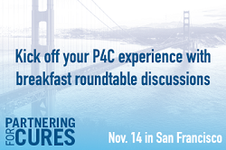 Discuss everything from blockchain to patient registries at P4C San Francisco