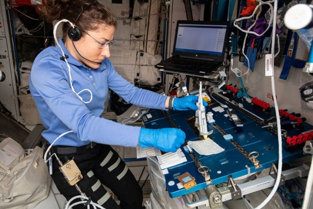 Astronauts successfully demonstrate DNA repair in space using CRISPR technology