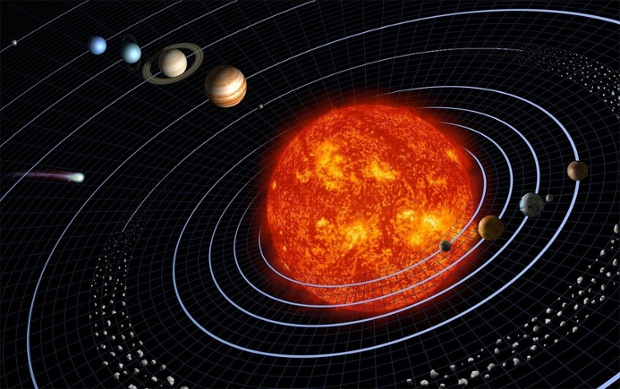 How far is Earth from the sun?