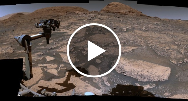 Mars rover Curiosity reaches intriguing transition zone on Red Planet (video)