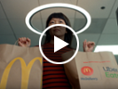 McDonald's delivers happiness with Uber Eats