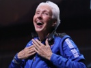 60 years later, female astronaut trainee blasts off