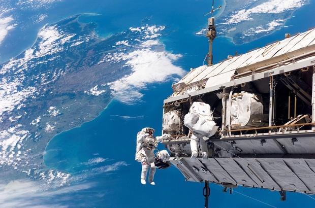 NASA astronauts went on a spacewalk
