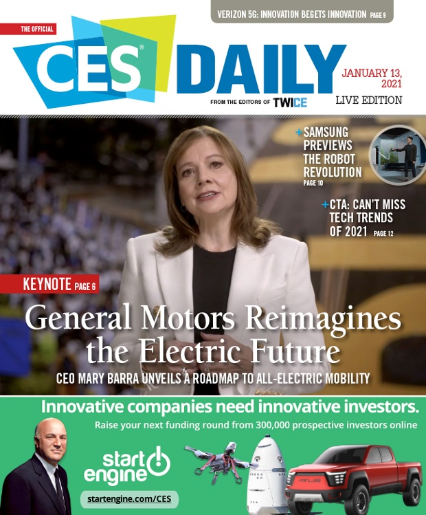 How To Get Coverage In The 2022 Official CES Daily