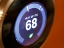Broadband households with smart thermostats rising