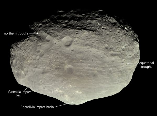 The mysterious troughs on giant asteroid Vesta keep puzzling scientists