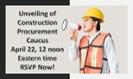RSVP for April 22 virtual kickoff of new Construction Procurement Caucus