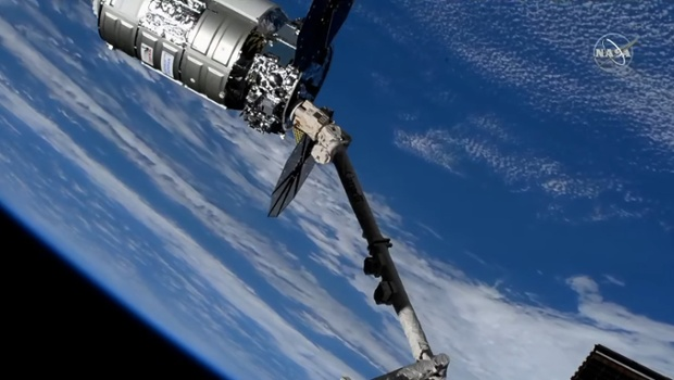 Cygnus cargo ship arrives at International Space Station with its biggest NASA haul ever