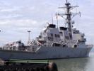 USS John S. McCain sails near Chinese artificial island