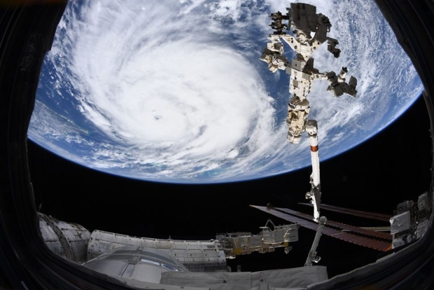 Hurricane Ida looks absolutely massive from space in these astronaut photos