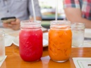 Study: Consumers are more likely to buy drinks with vibrant colors