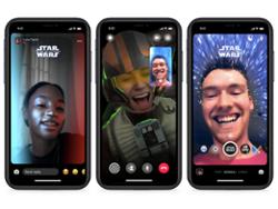 "Disney, Facebook add AR ""Star Wars"" features to Messenger"