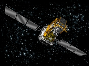 Europe's veteran gamma-ray space telescope nearly killed by charged particle strike
