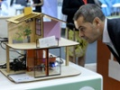 House model showcasing Internet of Things tech