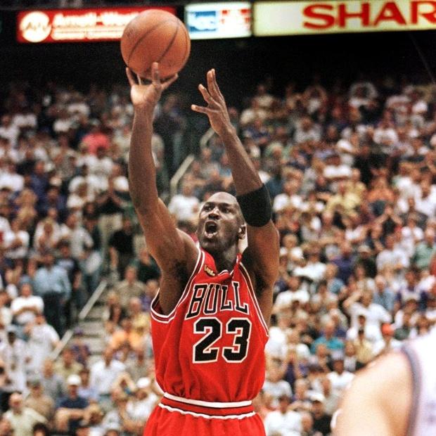"""His Airness"" deflates Utah Jazz fan"