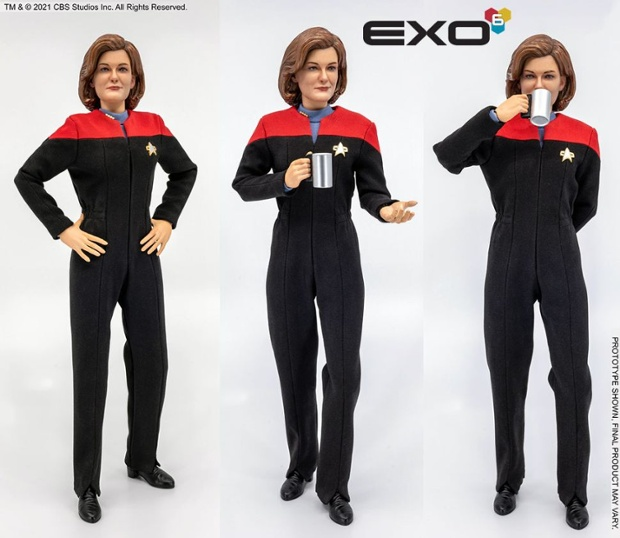 See Captain Janeway from 'Star Trek: Voyager' come alive in epic new 1:6 scale Exo-6 figure