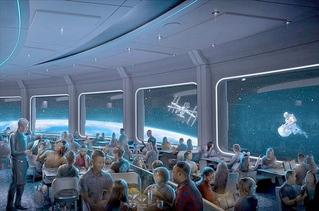 Take a sneak peek at Disney's Space 220 restaurant at EPCOT ahead of its launch next month