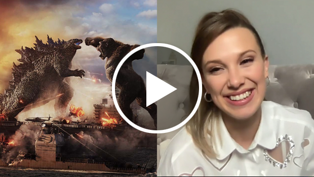 'Godzilla vs. Kong' Interviews with Millie Bobby Brown, Demián Bechir, Rebecca Hall and More