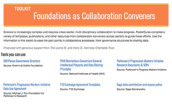 FasterCures' TRAIN Toolkits provide resources for creating effective partnerships