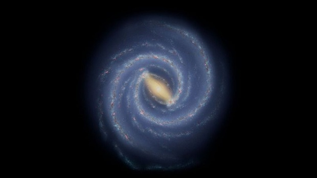 The Milky Way has a 'broken' arm that could reveal its galactic history