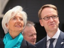 Weidmann at odds with Lagarde over German surpluses
