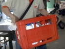 Be careful if you take a milk crate -- it could be illegal